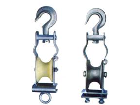 钢管式电缆滑车