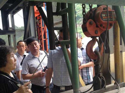 爬架电动葫芦为雄安新区建