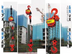 DHP型环链电动提升机的维护方法
